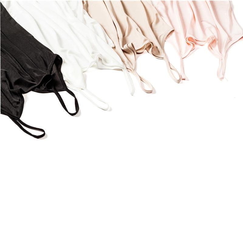 夏季薄款女性感100%桑蚕丝背心 百搭针织真丝吊带衫打底修身内搭