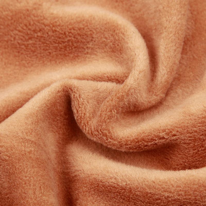 【1件装】加绒加厚双层塑身超柔软短袖半袖保暖背心女打底衫