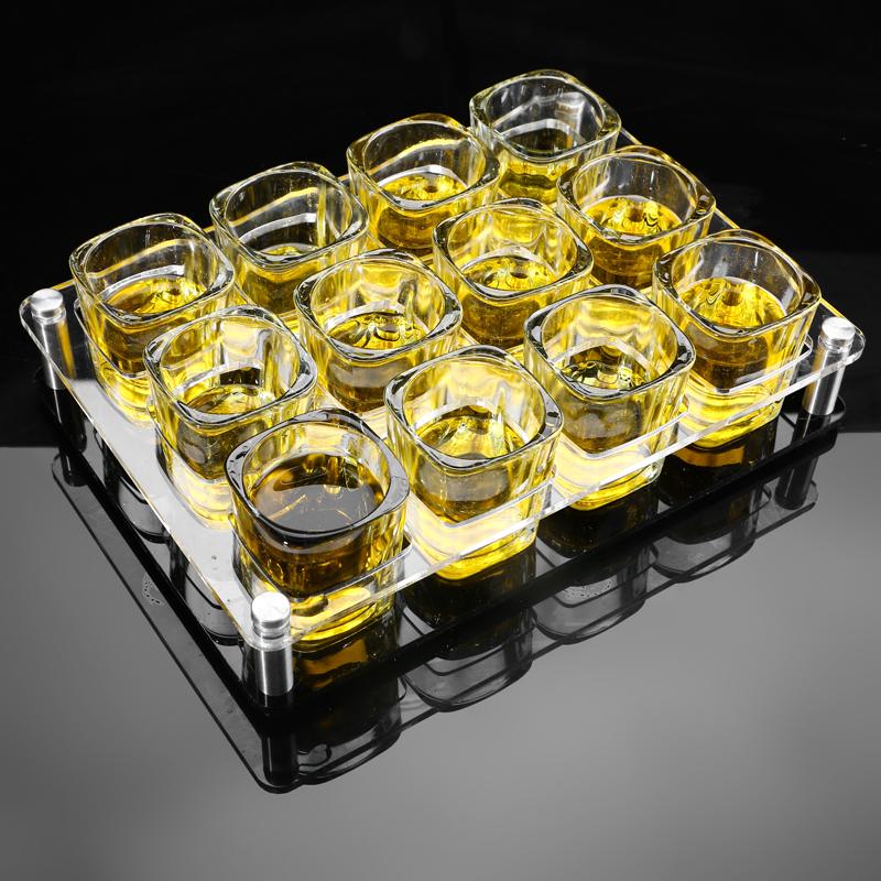 玻璃 白酒杯 子弹杯 烈酒杯 小酒杯 小酒盅 酒壶 酒杯套装家用