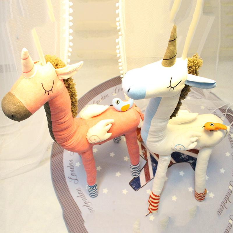 卡通台灯可爱创意儿童房卧室公主女孩落地灯独角兽动物造型装饰灯