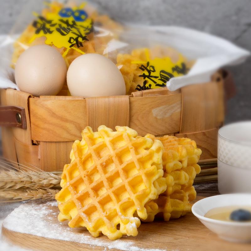 马大姐华夫饼整箱 早餐营养面包蛋糕休闲小零食软华夫饼580g包邮