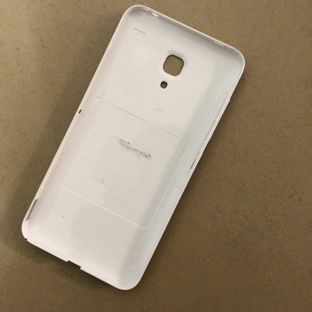 手机后盖白色手机壳小米2外