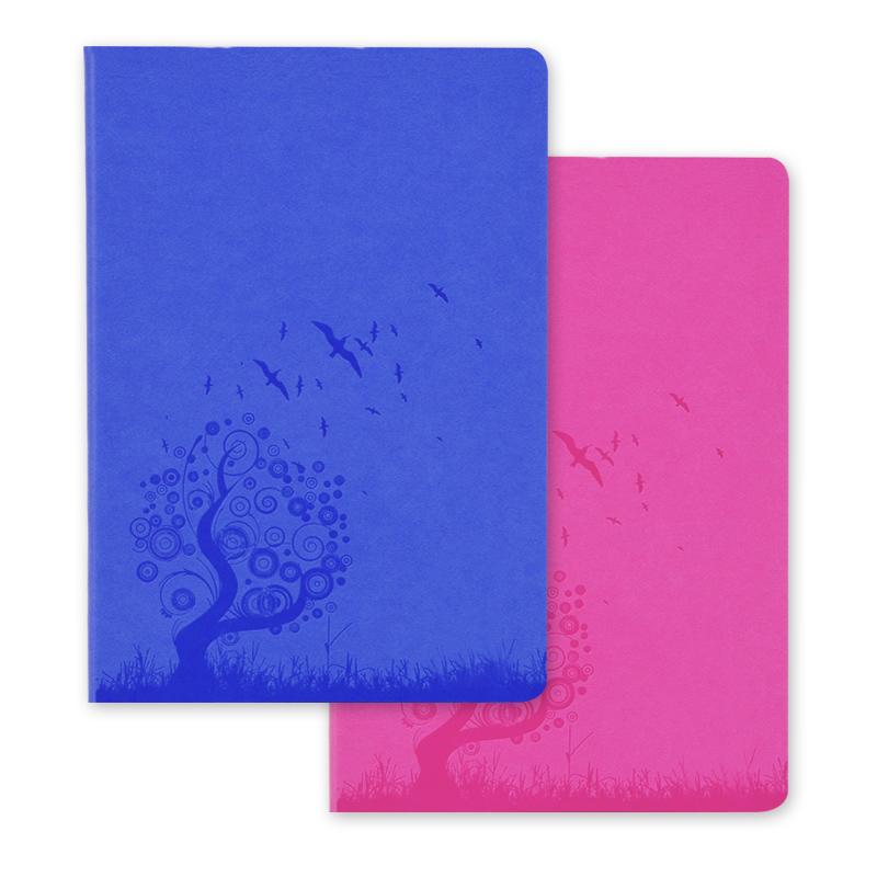 博文创意软皮笔记本记事本商务日记本办公用品文具随身本子