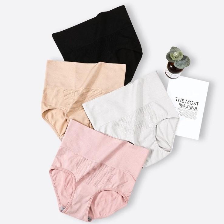 产后收腹内裤女塑形提臀高腰收小肚子强力束腰纯棉裆塑身夏季薄款