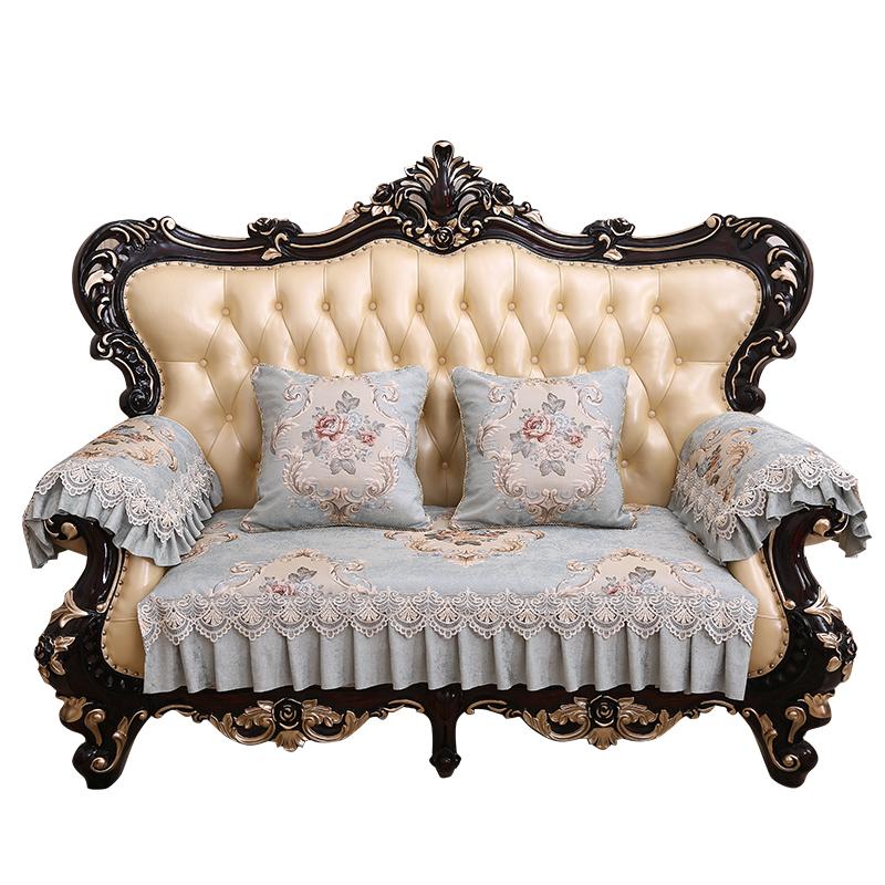 沙发垫四季通用布艺欧式高档奢华防滑美式123组合沙发套罩全盖