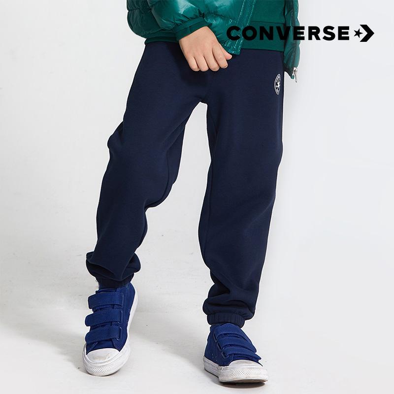 CONVERSE 匡威 儿童长款针织运动裤(110~160cm)