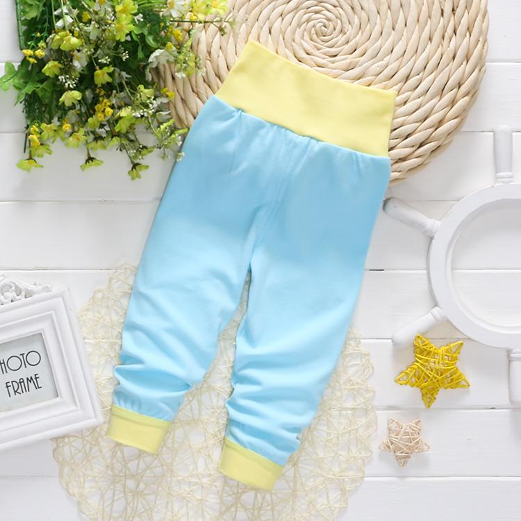 新款儿童内衣内裤高腰裤 婴幼儿秋衣套装高腰护肚0-4岁