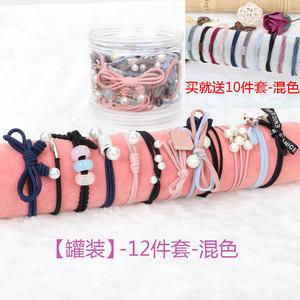 头绳女韩国成人简约扎发圈发绳头饰头套韩版可爱扎头发橡皮筋发饰
