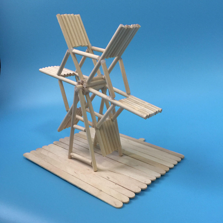木棍圆木棒竹签diy手工制作模型房材料沙盘耗材雪糕棍