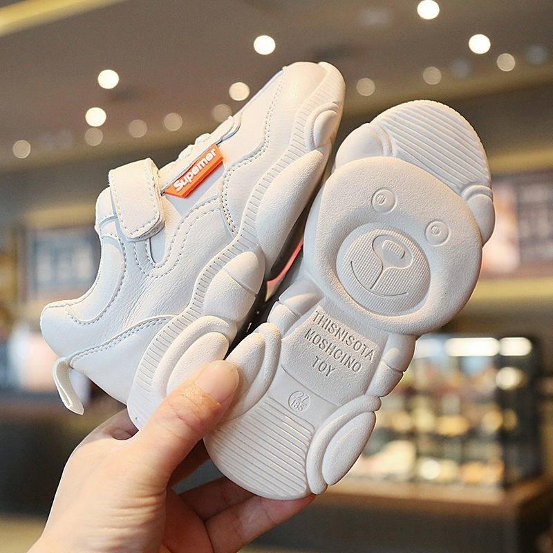 新款儿童老爹鞋男童熊猫底跑步鞋女童运动鞋时尚百搭板鞋 2019