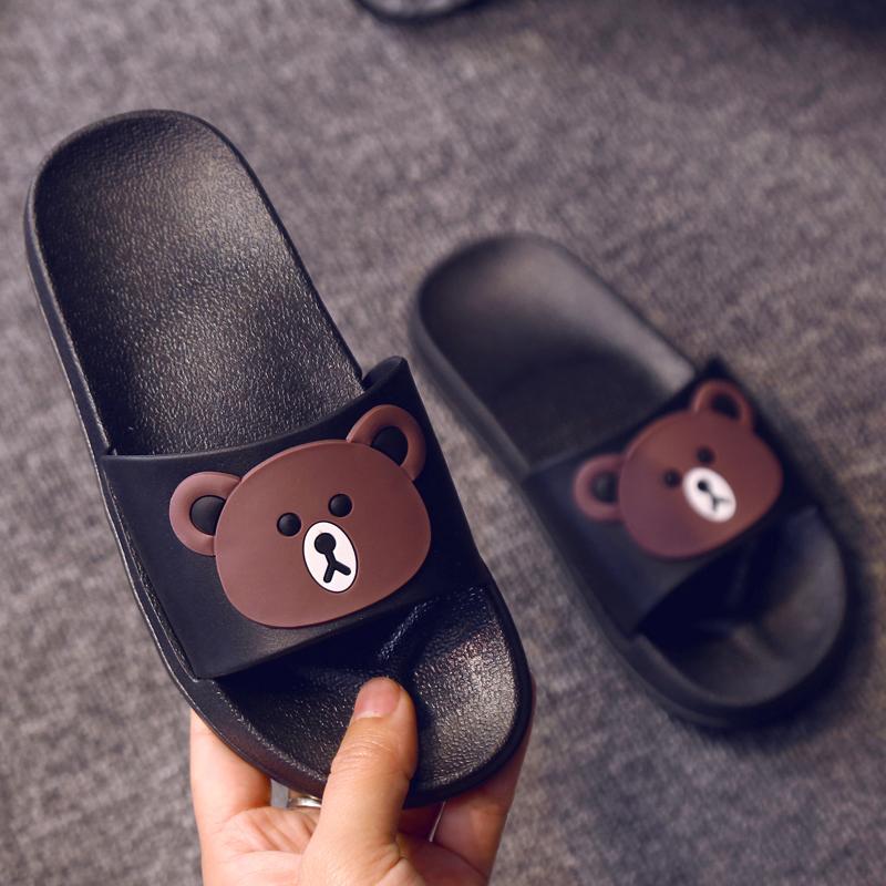 儿童拖鞋男女童夏季宝宝可爱卡通一家三口亲子软底防滑家居凉拖鞋