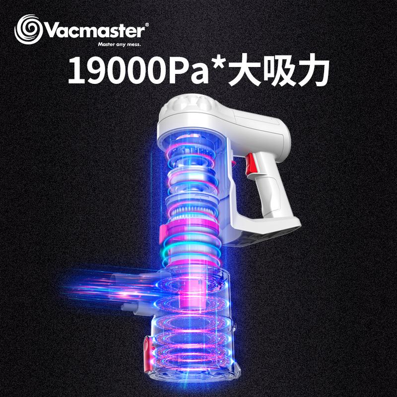 美国vacmaster无线吸尘器家用小型大吸力手持式强力除螨静音推杆