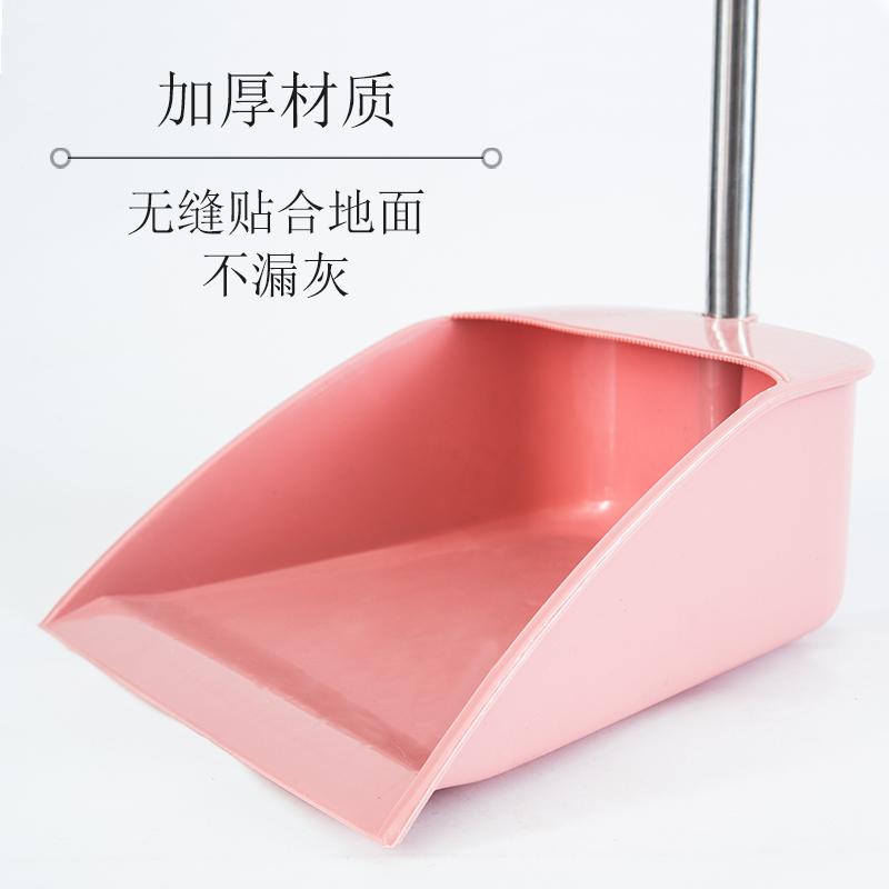 加厚塑料扫把簸箕套装家用网红不粘头发软毛扫地笤帚笤梳扫帚单个