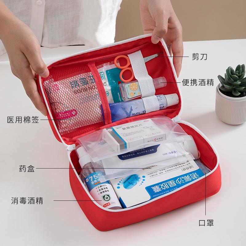 防疫包开学应急套装便携小孩上学复工健康包儿童成人消毒防护用品
