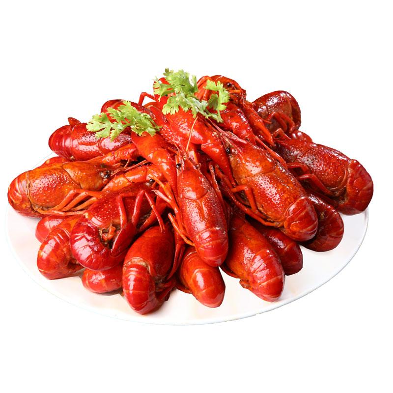 [第二斤优惠] 熟食小龙虾网红零食顺丰包邮潜江油焖大虾麻辣搬虾