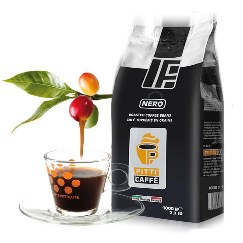 pitticaffe咖啡豆意大利原装进口意式浓缩特浓Espresso咖啡1kg
