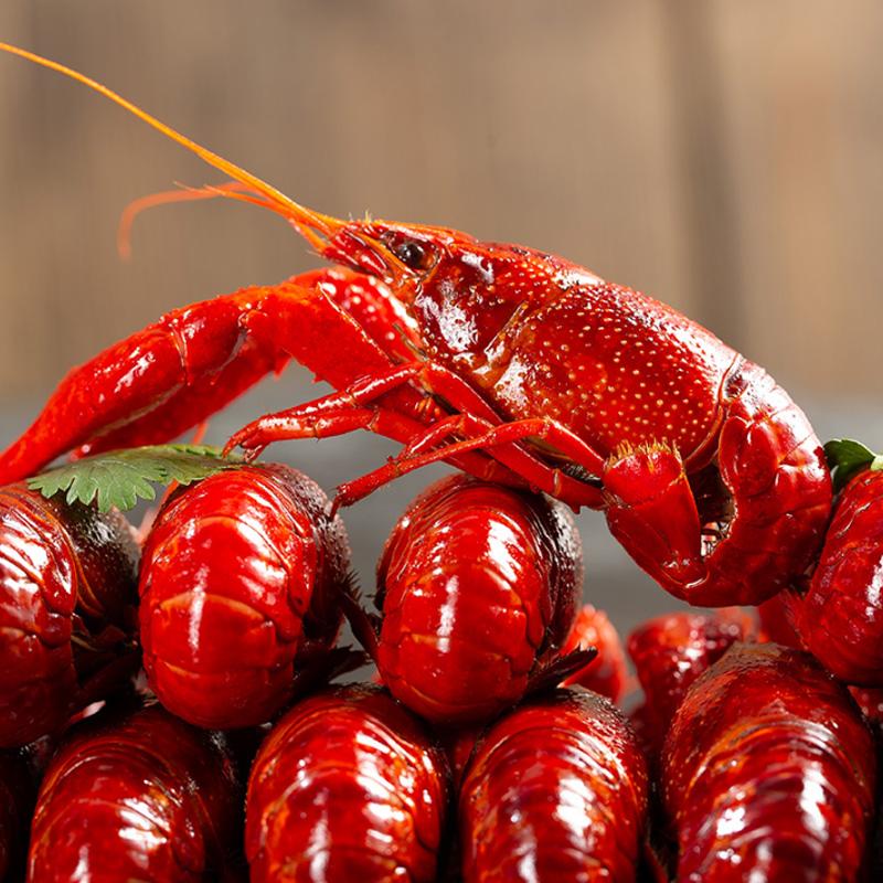 小龙虾即食麻辣 零食盒装海鲜熟食包邮1.8kg/盒香辣十三香小龙虾