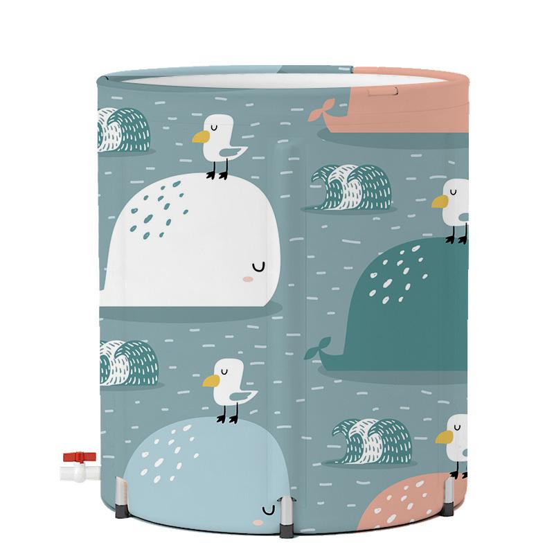 婴儿游泳池家用儿童游泳浴缸小孩洗澡桶免充气室内加厚宝宝游泳桶