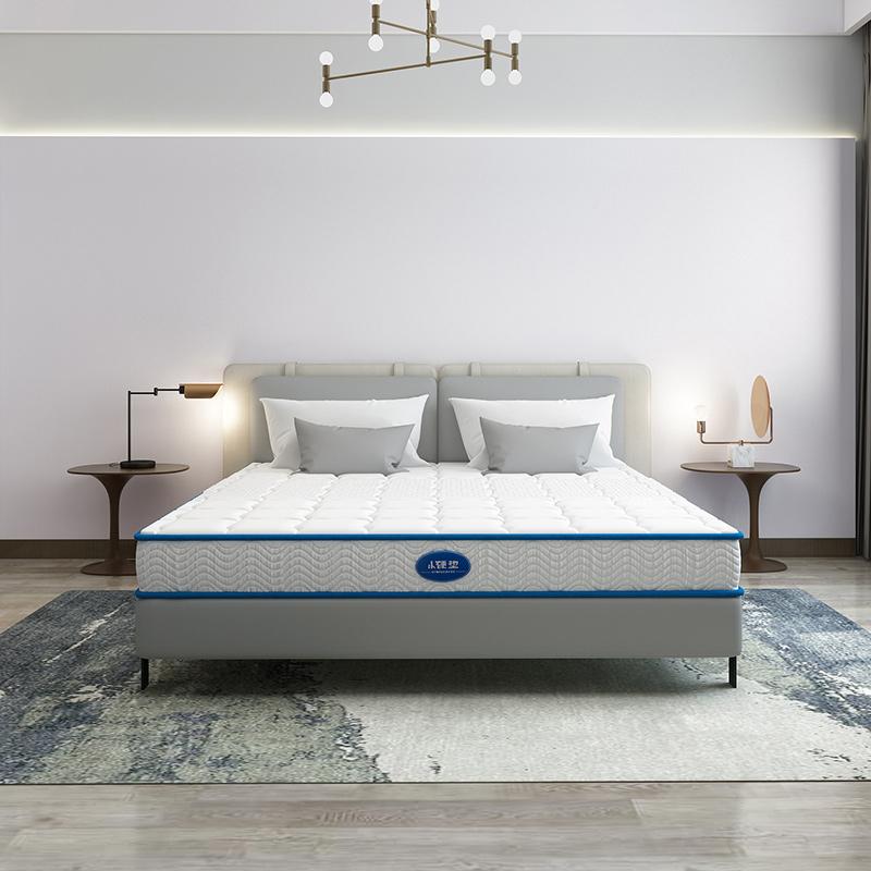 星港家居 青春系列弹簧床垫 1.8m床 席梦思床垫 软硬两用小硬垫新