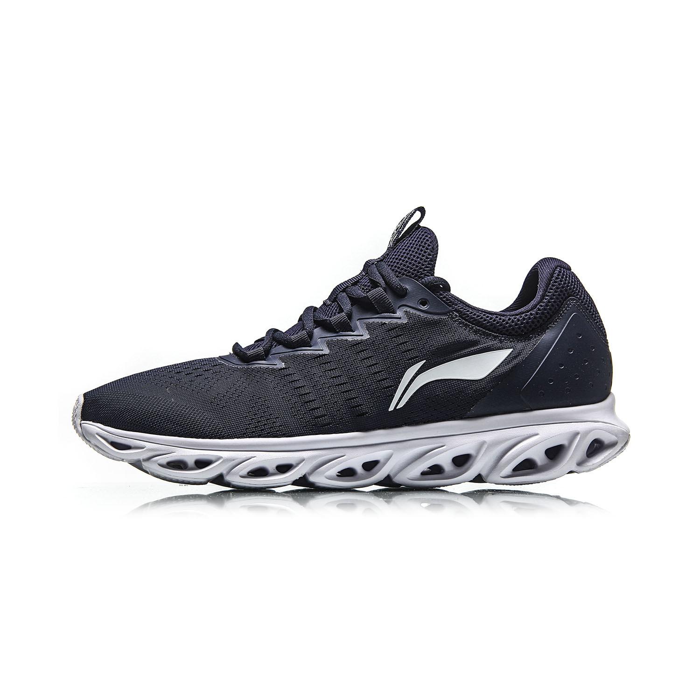 李宁跑步鞋男低帮网面透气耐磨运动鞋减震跑鞋飞弧轻便一体织袜套
