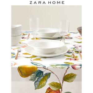 Zara Home 多色水果印花棉质桌布餐桌垫 43495021999