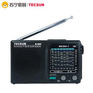 Tecsun/德生收音机新款便携式老人式全波段R-909复古半导体收音机