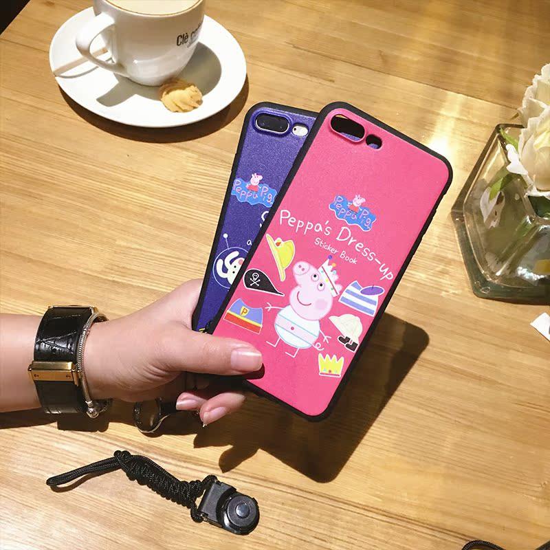 社会人小猪佩奇oppor11plus手机壳全包r15梦境版r9s软套创意个性