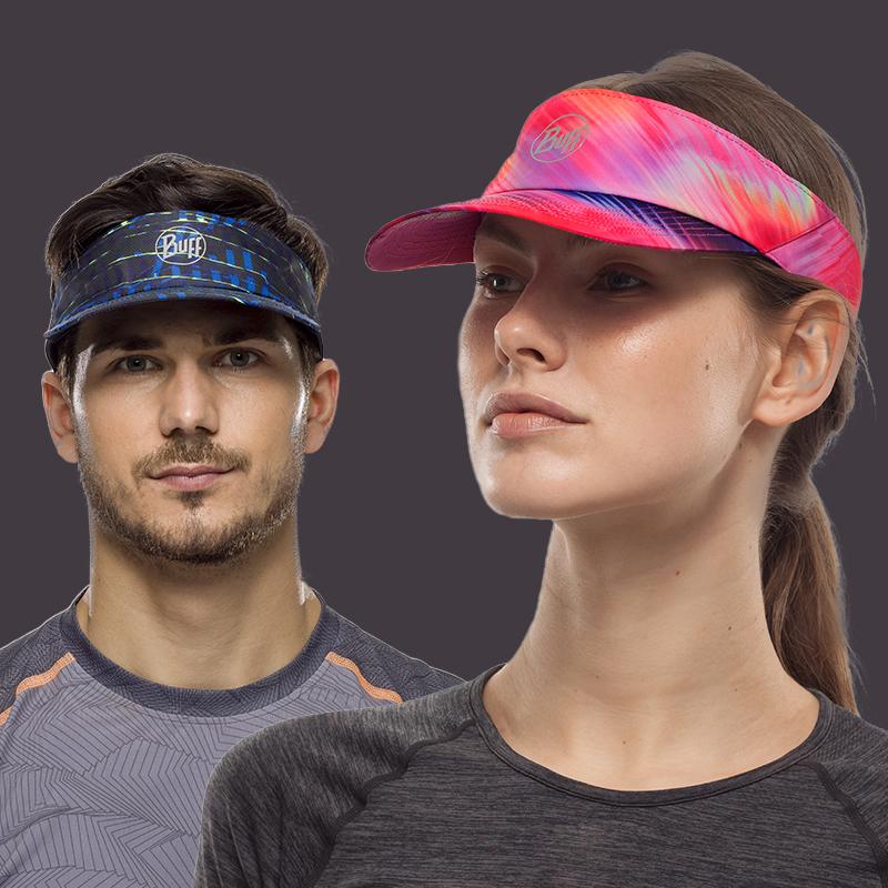 BUFF马拉松跑步空顶帽子  男女遮阳防晒运动夏季调节休闲无顶越野