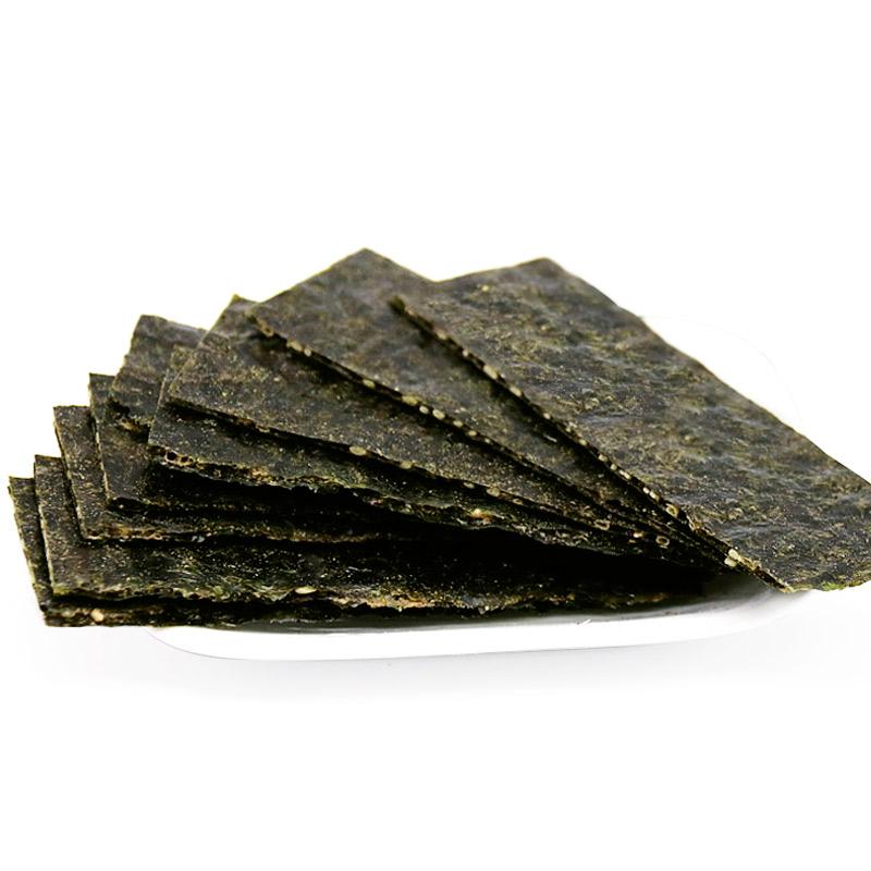 禾在岛海苔夹心脆即食紫菜原味夹心孕妇脆片海苔儿童米饭芝麻图片