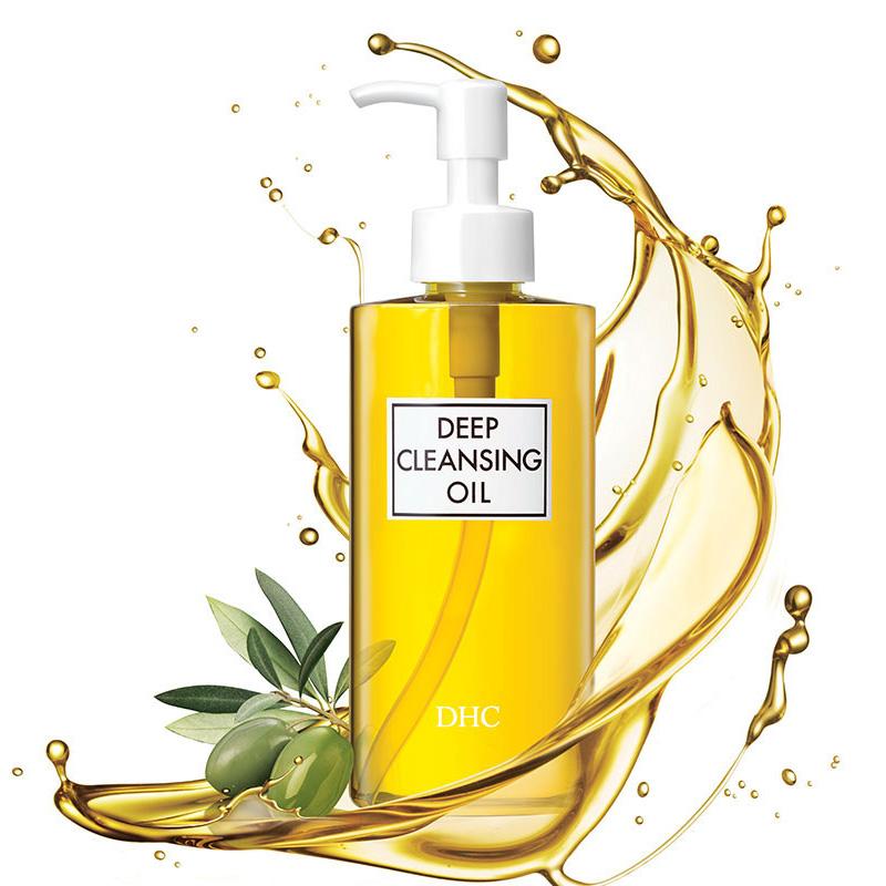 dhc蝶翠诗橄榄卸妆油200ml深层清洁温和卸妆油日本原装进口