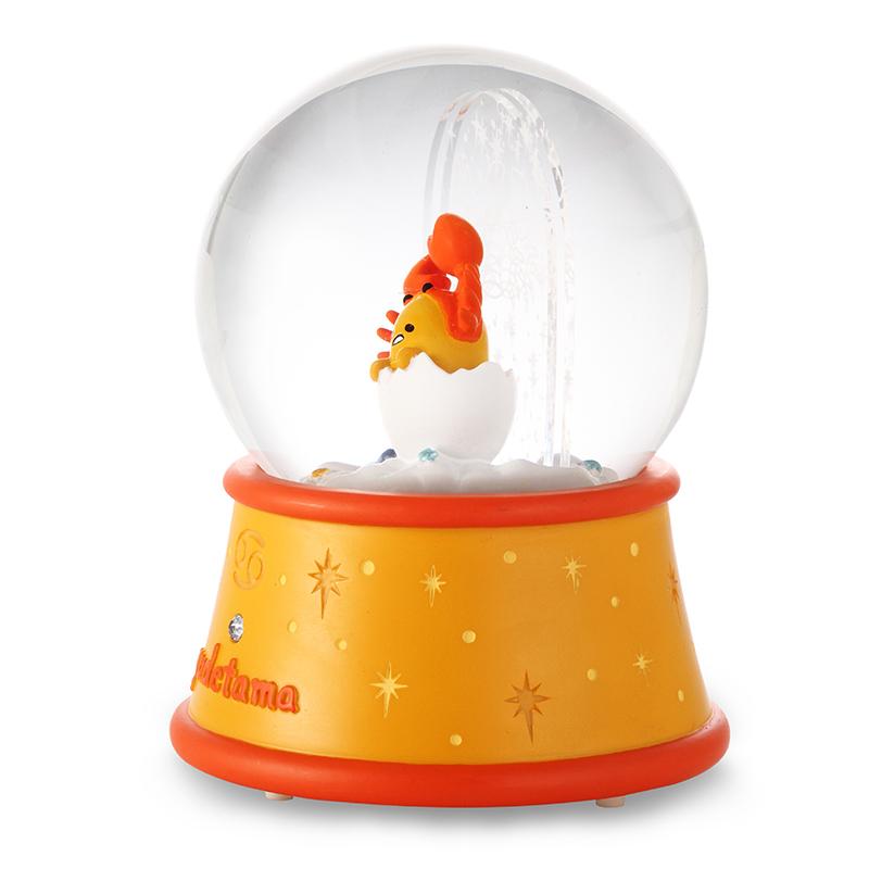 巨蟹座水晶球音乐盒八音盒女生儿童生日情人节礼物十二星座 JARLL
