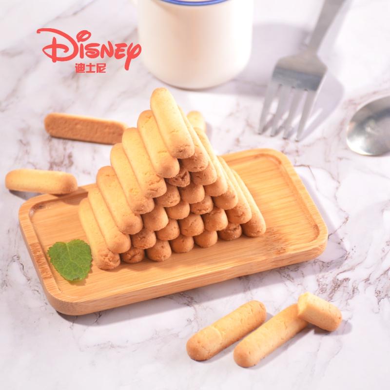 滨崎迪士尼冰雪奇缘曲奇条罐装黄油芝士味曲奇160g*2罐休闲零食