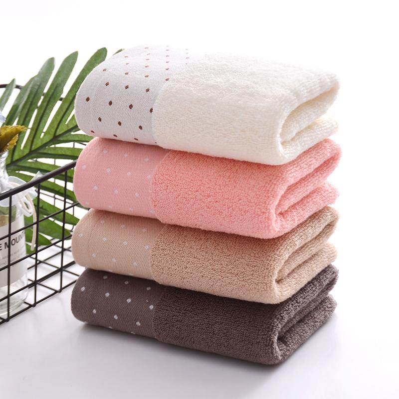 纯棉毛巾2条装 洗脸巾成人礼品男女家用洁面柔软加厚吸水定制logo