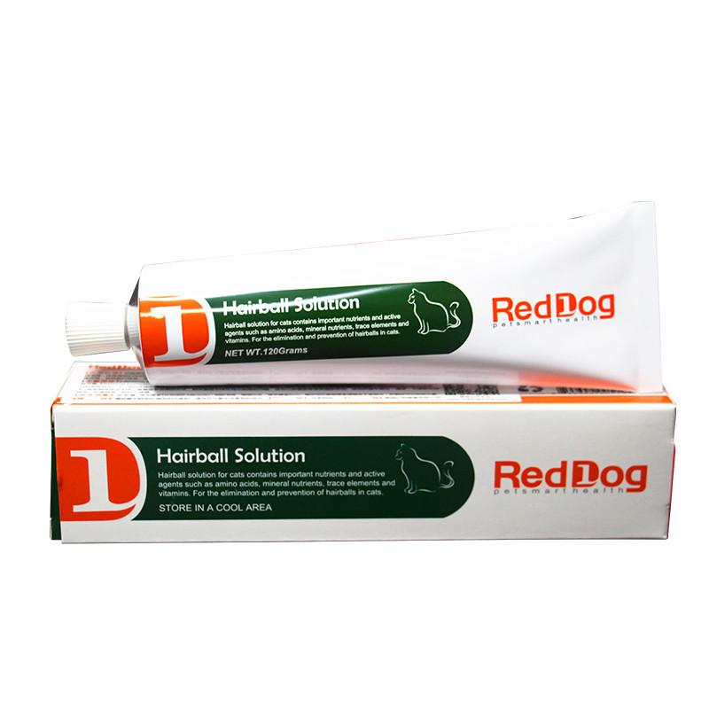 红狗化毛膏美国RedDog猫咪幼猫营养膏成猫美毛吐毛膏猫猫营养品