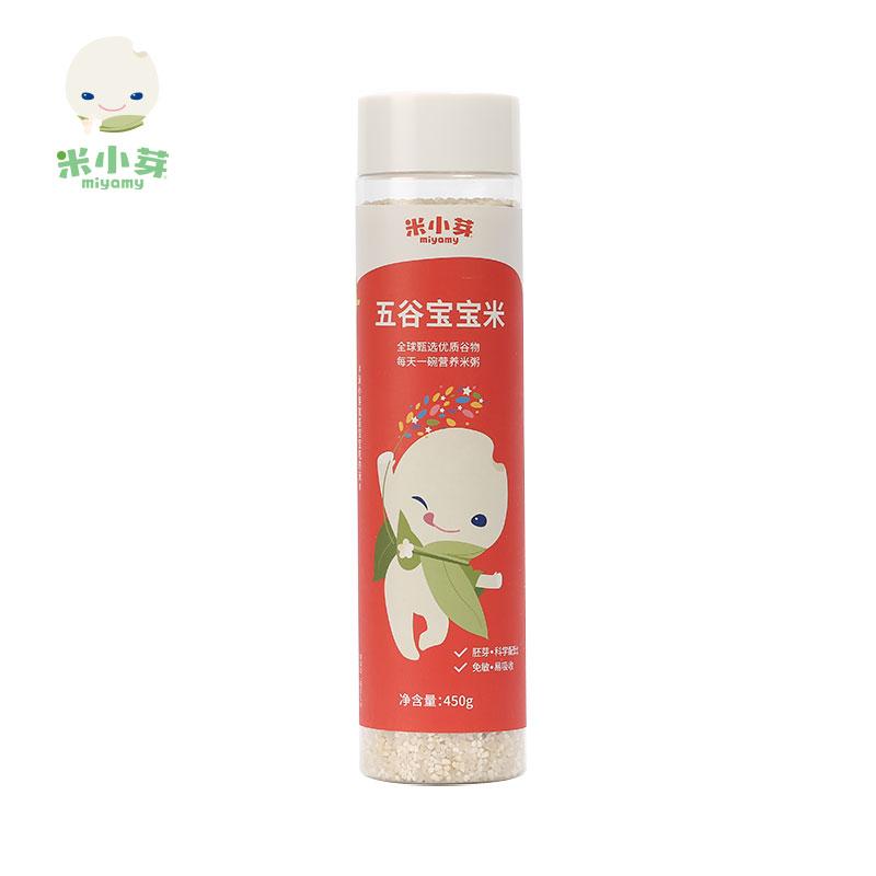 米小芽五谷宝宝米1岁以上 营养粥儿童粥米辅食米粥450g