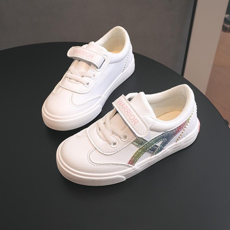 回力童鞋旗舰店儿童小白鞋女童鞋子2019秋季新款男童帆布鞋板鞋潮