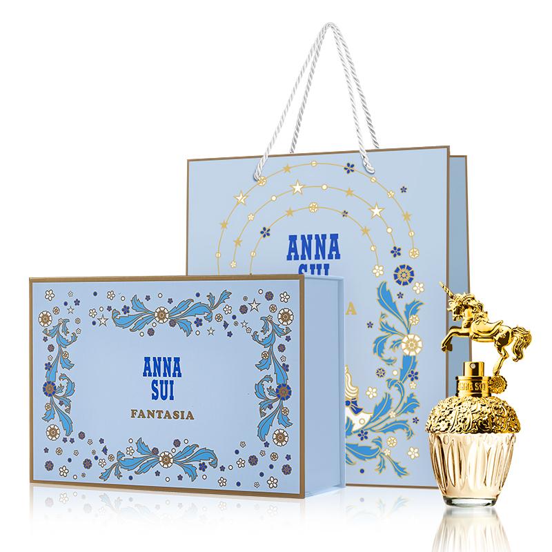 【官方正品】安娜苏独角兽筑梦天马女士淡香水配专属礼盒礼袋童话