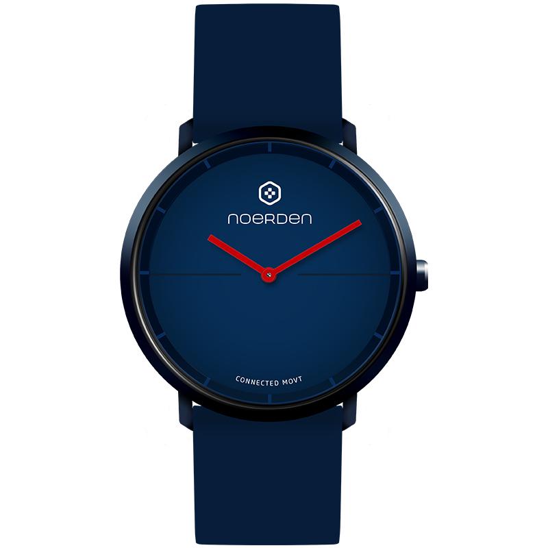 新品 法国牛丁NOERDEN LIFE2 多功能智能手表 无需充电指针式成人黑科技石英表防水震动提醒睡眠男女运动手环