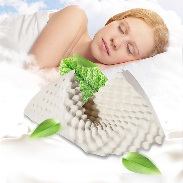 依睡眠乳胶枕 泰国天然 橡胶枕成人枕护颈枕 单人枕头 护颈椎正品