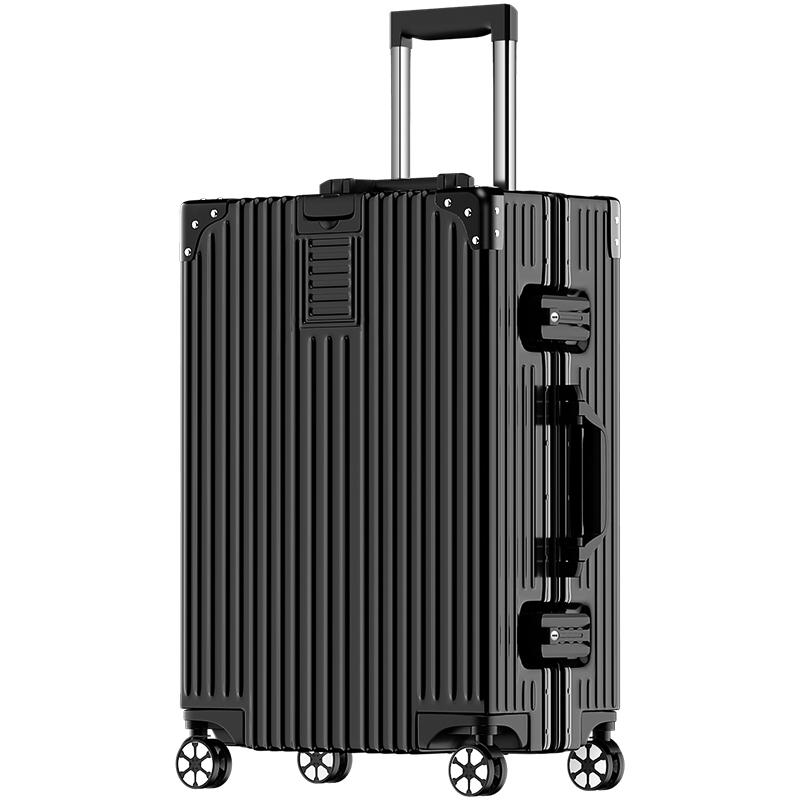 ins网红拉杆箱行李箱铝框旅行箱万向轮女男学生24密码皮箱子28寸