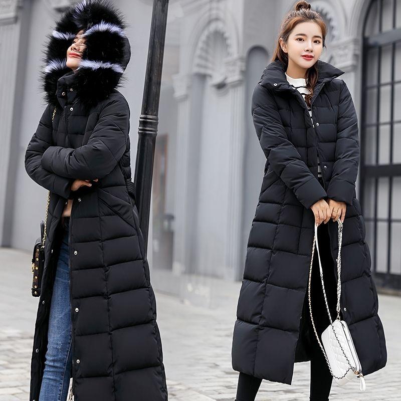 冬装2020年新款女外套加厚羽绒棉服韩版宽松中长款ins棉衣棉袄潮