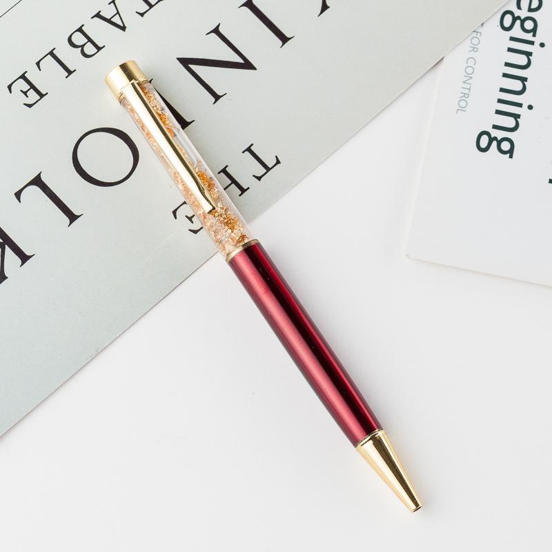 高档金箔笔金属黑色圆珠笔商务签名字笔定制广告笔圆珠笔笔赠品礼