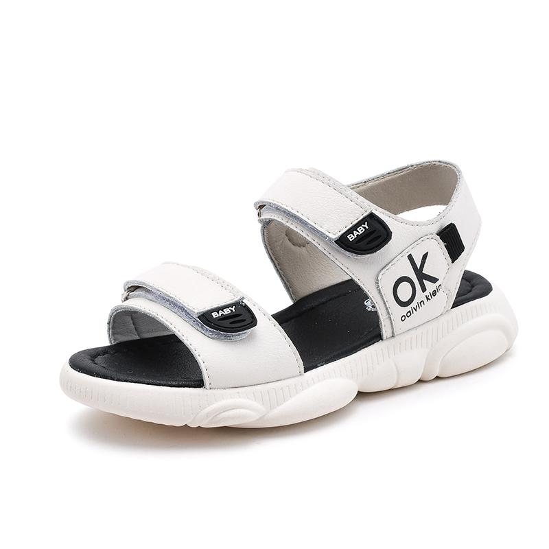女童凉鞋2019新款夏季时尚韩版软底中大童公主宝宝运动沙滩鞋亲子