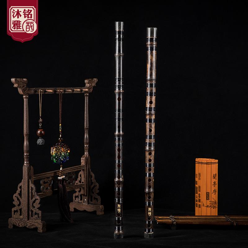 紫竹笛子精制成人初学一节笛乐器专业演奏考级竹笛f调古风陈情笛