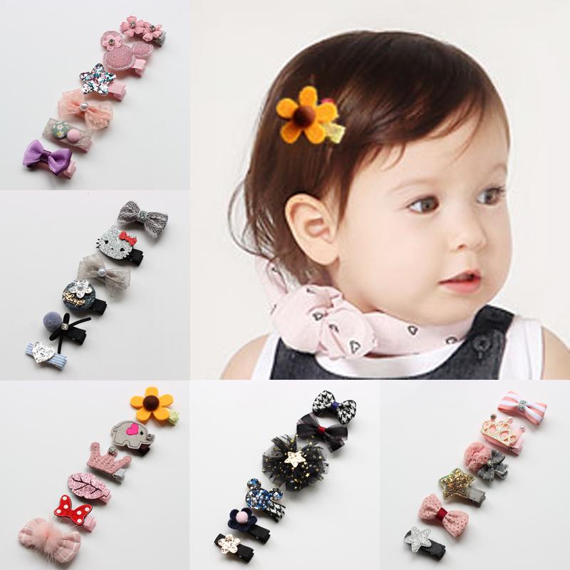韩版儿童发饰品公主发卡女童头饰 宝宝发夹发卡发圈头绳套装组合