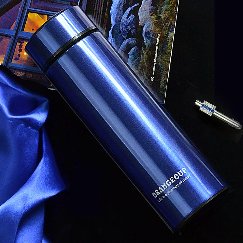 免费刻字不锈钢批发保温杯男便携茶杯女杯子定制水杯印logo广告杯
