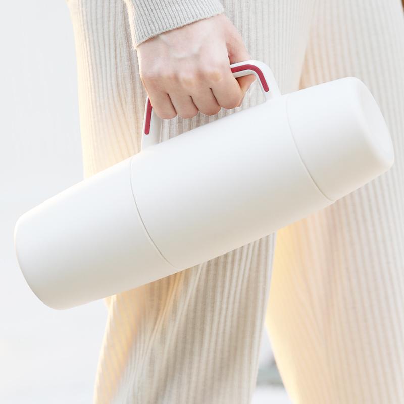 face保温壶家用小大容量户外旅行保温水瓶便携女水杯不锈钢开水壶