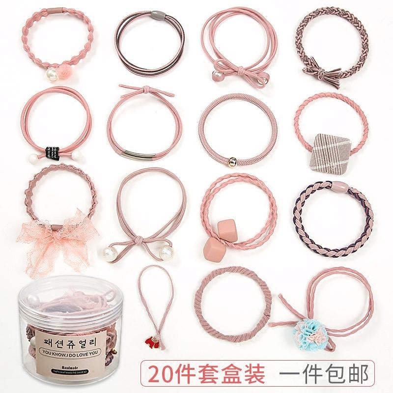 韩国小清新发绳简约发圈个性扎头发橡皮筋可爱成人森女系头绳头饰