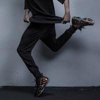KISSFUNK 2016SS HyperBasic裤腿双侧拉链卫裤 舒适运动束脚裤男