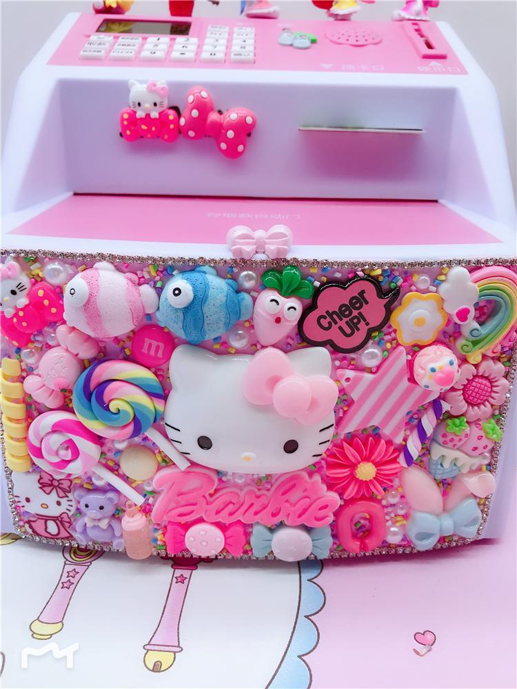 可爱储蓄罐 Kitty 女孩 儿童存钱罐创意防摔只进不出大人密码箱超大
